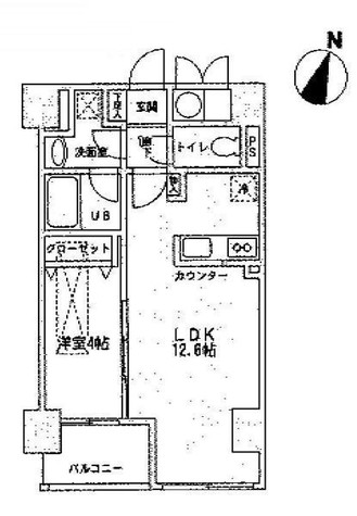 ルジェンテリベル日本橋濱町(旧トレステージ日本橋浜町) / 7階 部屋画像1