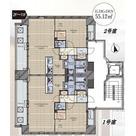 麻布十番テラス / 401 部屋画像1