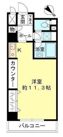 東建シティハイツ鶴見中央 / 5階 部屋画像1