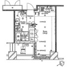 ザ・タワー芝浦(旧パシフィックタワー芝浦) / 602 部屋画像1