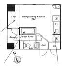 ローズハウス麻布十番 / 401 部屋画像1