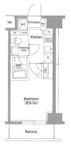プラウドフラット森下 / 6階 部屋画像1