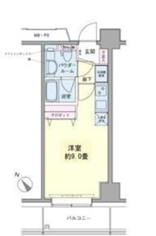 エコロジー豊洲プロセンチュリー / 6階 部屋画像1