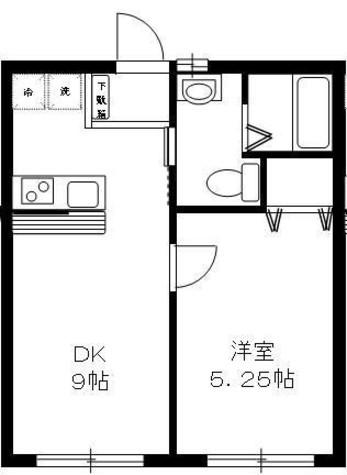 エスポワール / 1階 部屋画像1