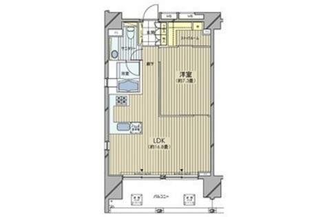 カスタリア麻布十番七面坂 / 13階 部屋画像1