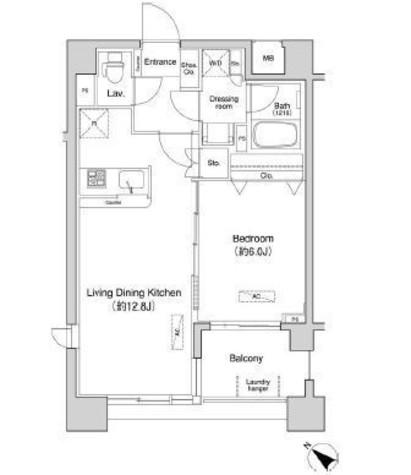 ドゥーエ月島(旧フラット月島) / 10階 部屋画像1