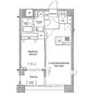 ドゥーエ月島(旧フラット月島) / 5階 部屋画像1