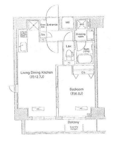 ドゥーエ月島(旧フラット月島) / 3階 部屋画像1