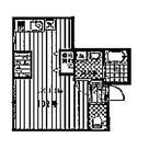 ヒルトップスクエア / 102 部屋画像1