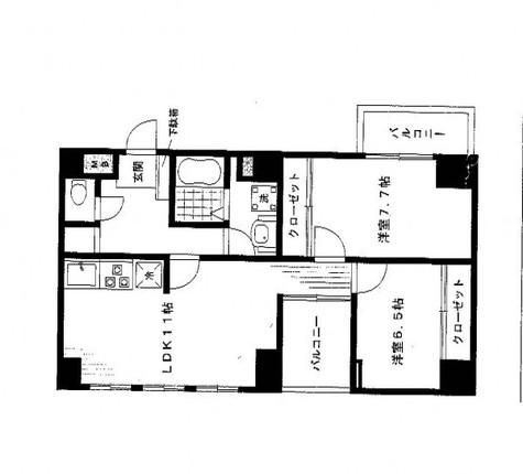 白山ハイツ / 3階 部屋画像1
