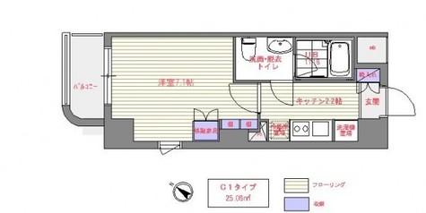 アーバンシュロス綱島 / 6階 部屋画像1