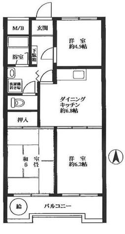光シャンブル品川東八ツ山公園 / 9階 部屋画像1