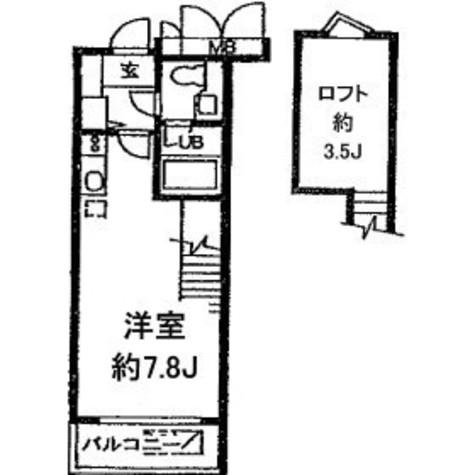 アーデン目黒通り(旧ミルーム目黒通り) / 313 部屋画像1
