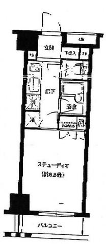 グランスイート銀座レスティモナーク / 9階 部屋画像1