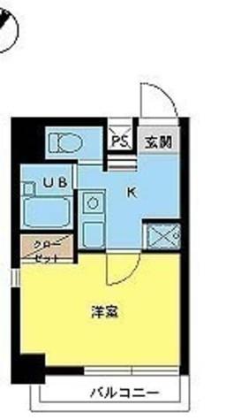 スカイコート目黒壱番館 / 5階 部屋画像1
