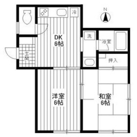 メゾン志樹 / 1階 部屋画像1