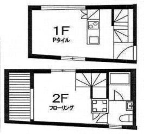 オリーブ笹塚B棟 / 1階 部屋画像1