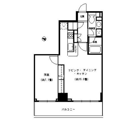 ベルファース本郷弓町(Balle Face本郷弓町) / 13階 部屋画像1
