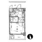 プレール代々木公園 / 4階 部屋画像1