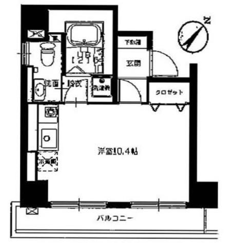 銀座ダイヤハイツ / 2階 部屋画像1