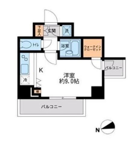 HF早稲田レジデンスⅡ / 10階 部屋画像1