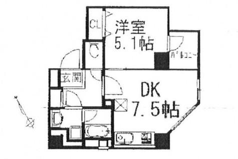 イデアル五反田 / 301 部屋画像1