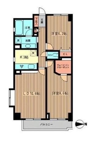 ファーストビレッジ白金台 / 2階 部屋画像1