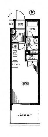 プレール・ドゥーク横浜South Maison Loire(プレール・ドゥーク横浜サウス) / 10階 部屋画像1