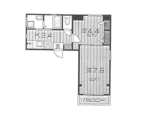 プルムルージュ(Plume Rouge) / 2階 部屋画像1