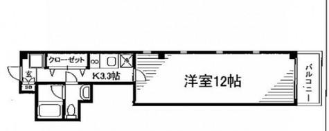 センタービレッジ千駄木 / 2階 部屋画像1