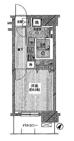 プレール・ドゥーク西横浜 / 902 部屋画像1