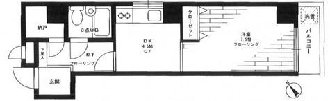 アーバンステージ浅草 / 3階 部屋画像1