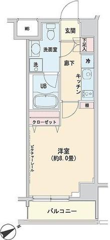 ベルティス渋谷 / 3階 部屋画像1