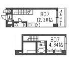 コンフォリア豊洲 (旧フォレシティアパートメント豊洲) / 807 部屋画像1