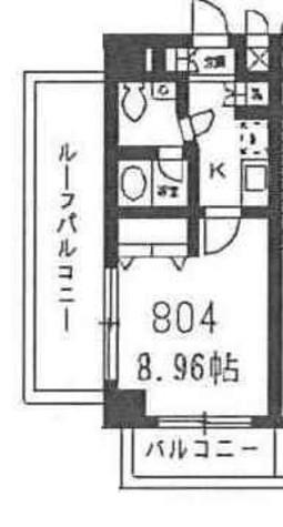 コンフォリア豊洲 (旧フォレシティアパートメント豊洲) / 804 部屋画像1