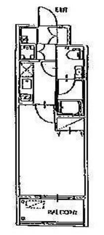コンフォリア豊洲 (旧フォレシティアパートメント豊洲) / 325 部屋画像1