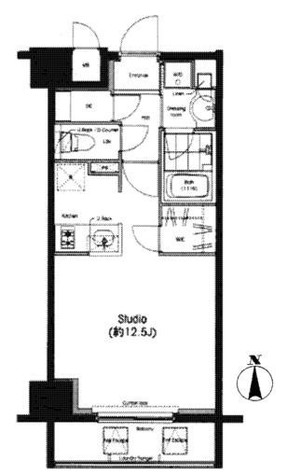 レジデンス両国駅前(旧 コンフォリア両国) / 205 部屋画像1