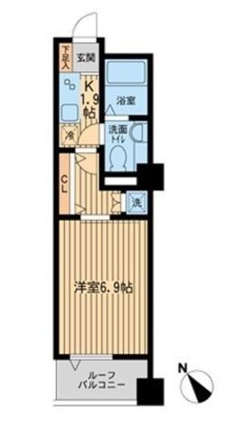 リヴシティ関内(旧ノステルコート関内) / 610 部屋画像1