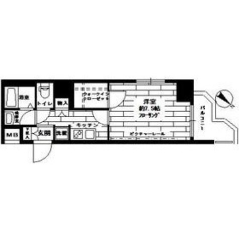 ステージファーストお茶の水女子大前 / 2階 部屋画像1