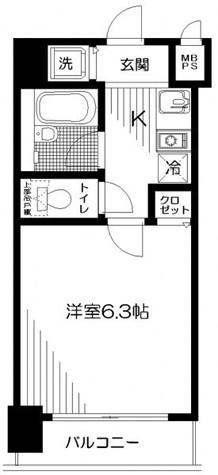 日神パレステージ関内 / 4階 部屋画像1