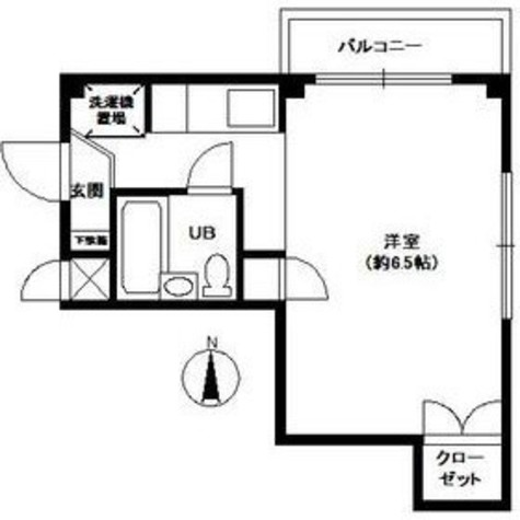 駒沢514マンション / 2階 部屋画像1