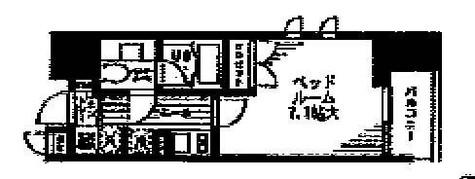 レジディア文京本駒込 / 5階 部屋画像1
