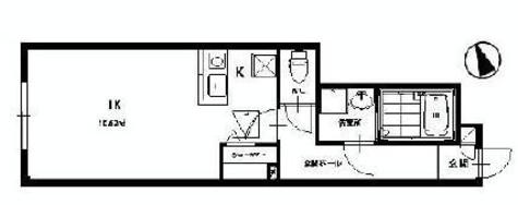 パティオ赤坂 / 1階 部屋画像1