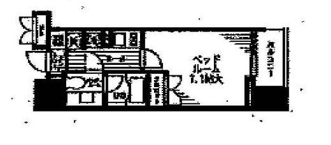 レジディア文京本駒込 / 603 部屋画像1