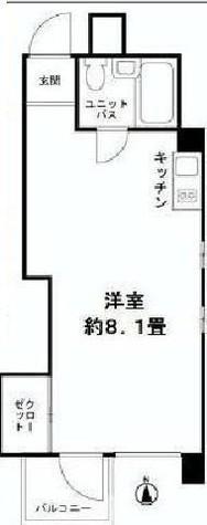 渋谷パールホーム / 302 部屋画像1
