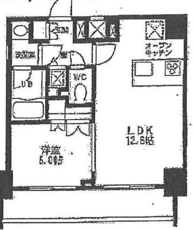 カスタリア門前仲町Ⅱ(旧ニューシティレジデンス門前仲町イースト) / 7階 部屋画像1