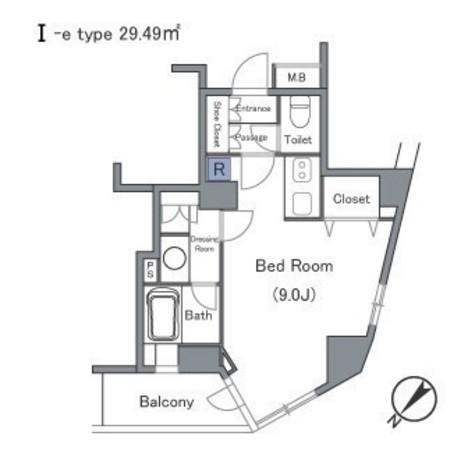 セントラルクリブ六本木Ⅰ / 1101 部屋画像1