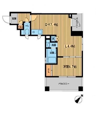 THEパームス田園調布 / 4階 部屋画像1
