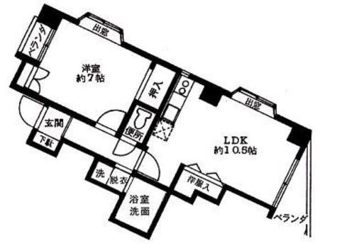 リバレージ白山 / 3階 部屋画像1