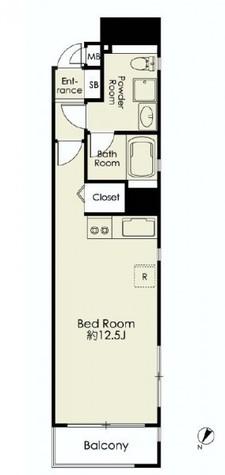レグラス川崎 / 4階 部屋画像1